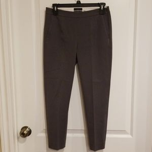 J.Crew Gray Martie Cropped Career Pants s2